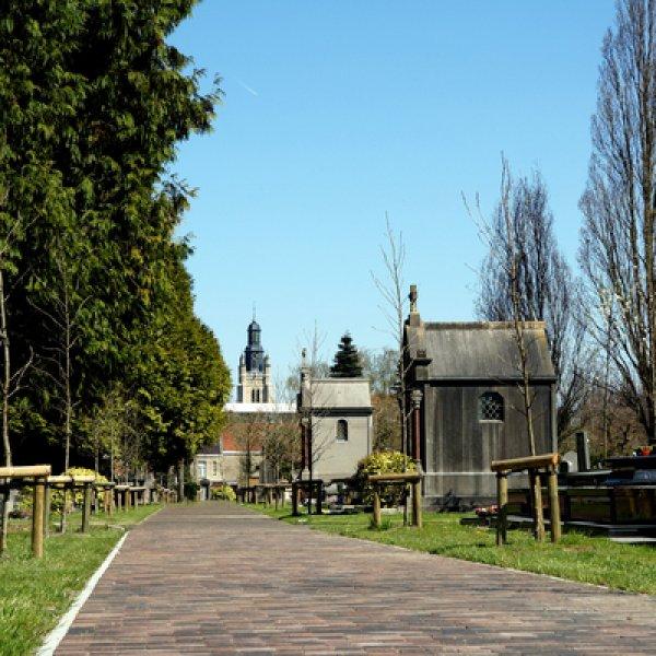Het oud kerkhof - Blekerijstraat